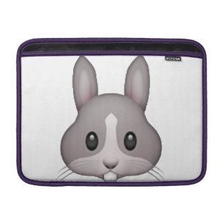 Bunny - Emoji MacBook Sleeve