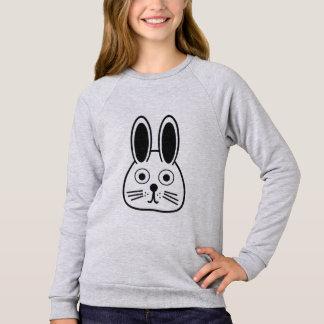 bunny face sweatshirt