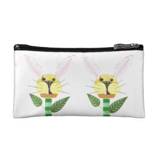 Bunny Flower Cosmetic Bag