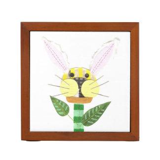 Bunny Flower Desk Organiser