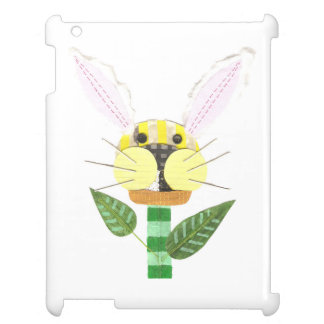Bunny Flower I-Pad Back Case For The iPad 2 3 4