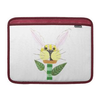 Bunny Flower Macbook Air Sleeve