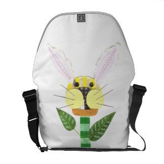 Bunny Flower Rusksack Messenger Bag