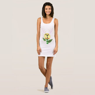Bunny Flower Women's Dress