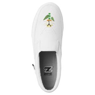 Bunny Flower Women's Slip On Shoes