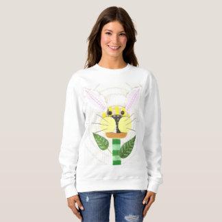 Bunny Flower Women's Sweatshirt