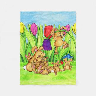 Bunny Fluffle blanket
