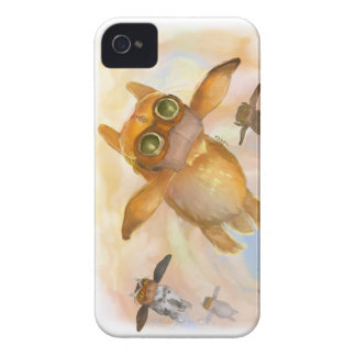 Bunny fly fly fly iPhone 4 case