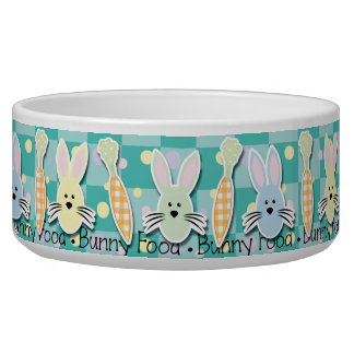 Bunny Food Bowl