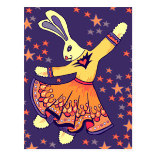 Bunny Freestyle Postcard