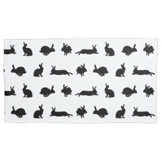 Bunny Frenzy Pillowcases (choose colour)