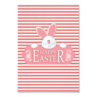 Bunny Greetings Easter Party Invitations