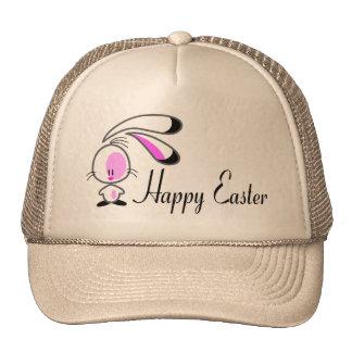 Bunny Happy Easter Trucker Hats