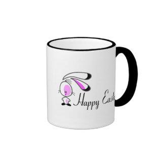 Bunny Happy Easter Coffee Mugs