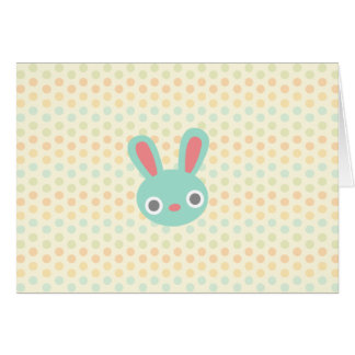 Bunny Happy Easter note cards