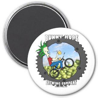 Bunny Hops Magnet