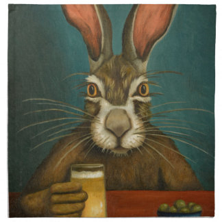 Bunny Hops Napkin