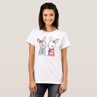Bunny Ice Cream T-shirt Cute Rabbit Graphic tee