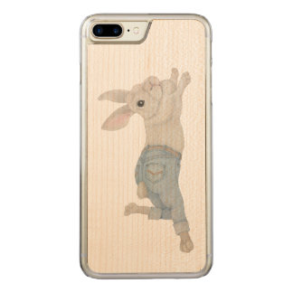 Bunny in Jeans Carved iPhone 8 Plus/7 Plus Case