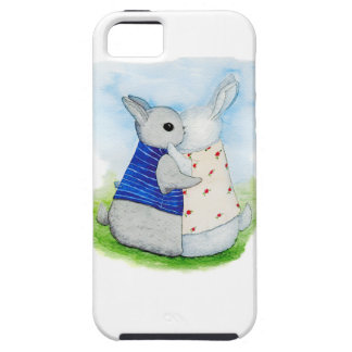 Bunny in love iPhone 5 cases