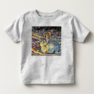 Bunny in Sunlight Fine Jersey Toddler Tee Shirt