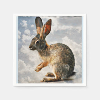 Bunny in the Heaven's Paper Napkins