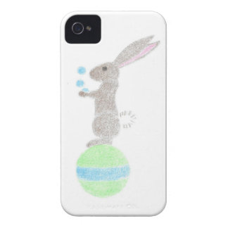 Bunny Juggler iPhone 4 Case-Mate Case