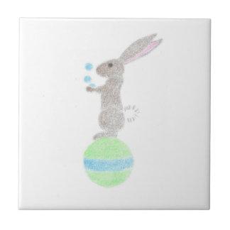 Bunny Juggler Tile