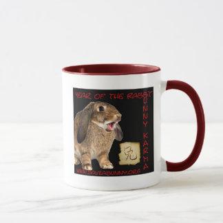 Bunny Karma! Mug