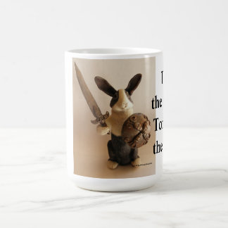 Bunny Knight Coffee Mug