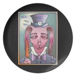 Bunny Lollipop Plate