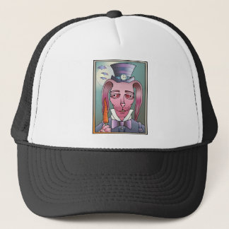 Bunny Lollipop Trucker Hat