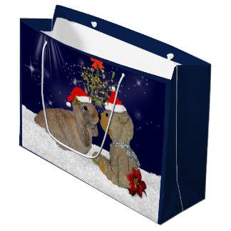 Bunny Love at Christmas Gift Bag