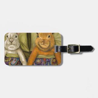 Bunny Love Bag Tag