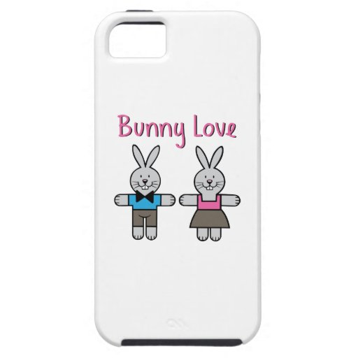 Bunny Love iPhone 5 Covers