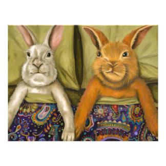 Bunny Love Customized Letterhead