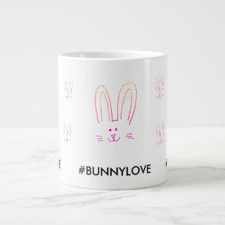 BUNNY LOVE GIANT COFFEE MUG