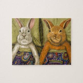 Bunny Love Jigsaw Puzzle
