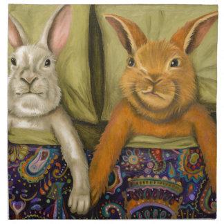 Bunny Love Napkin
