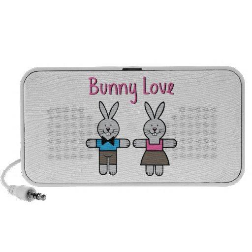 Bunny Love Travel Speakers