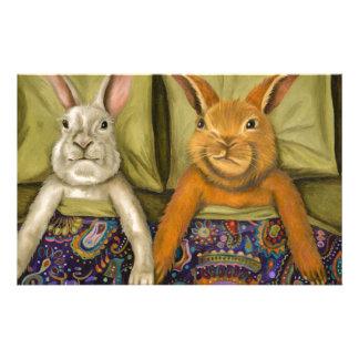 Bunny Love Stationery