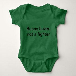 Bunny lover baby baby bodysuit