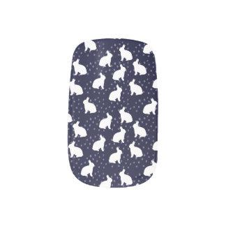 Bunny Lover Minx Nail Art