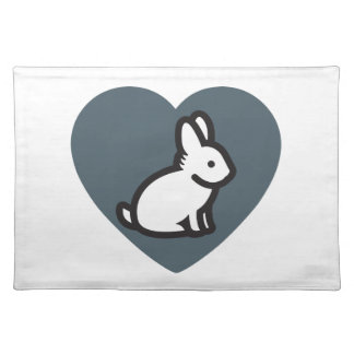 Bunny Lover Pillow Care Place Mats