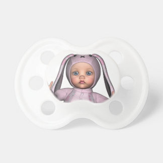 Bunny Loves Baby Pacifier