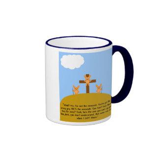 Bunny Messiah Mugs