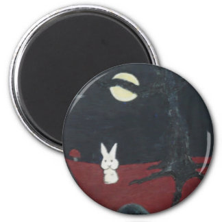bunny moon magnet