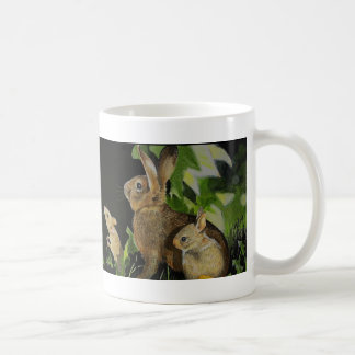 Bunny Mouse And Butterfly Coffee Mug