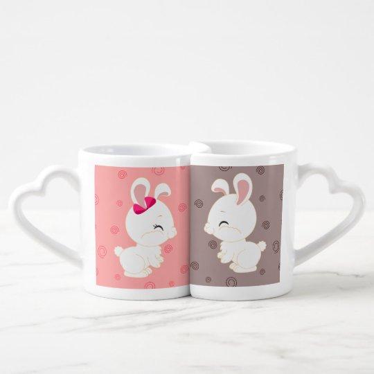 Bunny mugs - Lover's mug set
