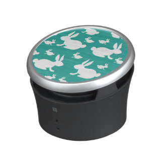 Bunny Pattern Speakers Bluetooth Speaker